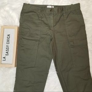 Max Studio Speciality Products Army Green Pants